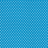 "45"" Dottie Small Dots on Turquoise by Moda 