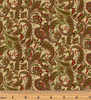 Winterberry - Winter Paisley Honey/Multi by 9643-30 Benartex
