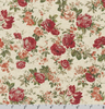 Cotton Flax Prints Roses SB-87505D3-1 by Robert Kaufman
