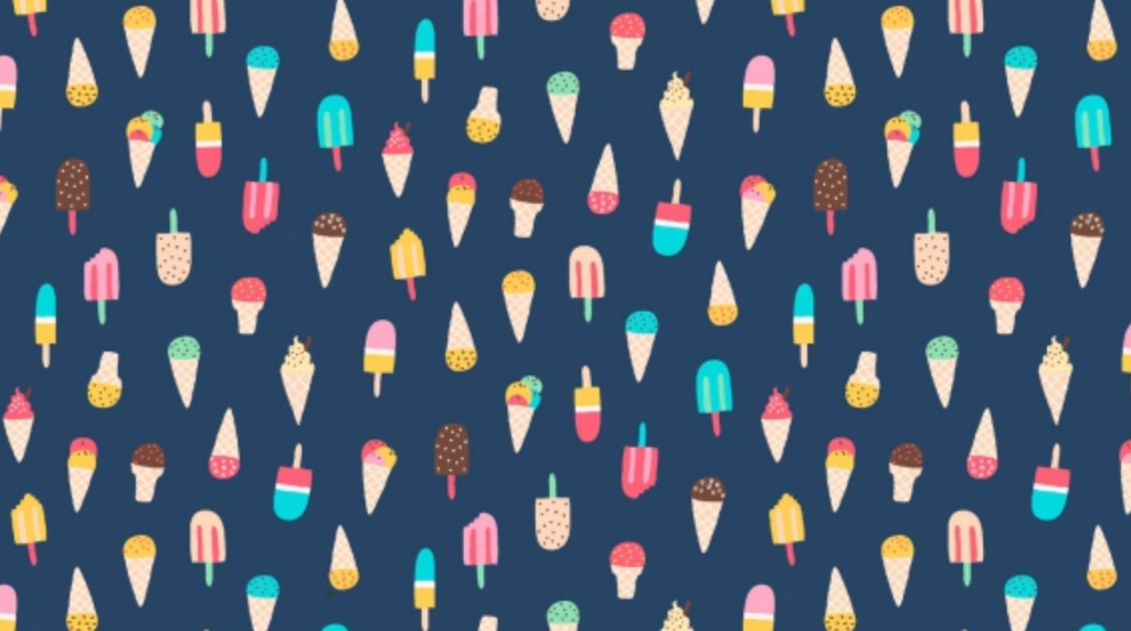 Ice Cream Regatta by Dear Stella | Novelty Fabrics