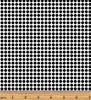 Tonal Dots White/Black by Kanvas Studio for Benartex 7814-99