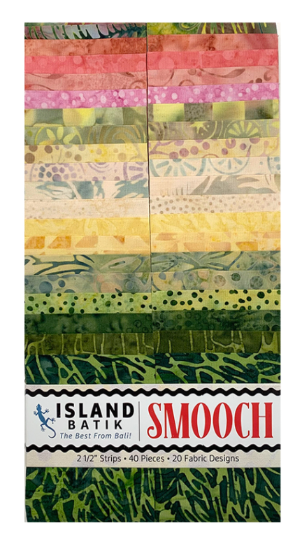 Smooch Batiks Strip Pack by Island Batik | Royal Motif Fabrics