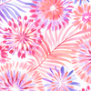 Tropical Breeze - Tropical Fusion Floral White by Kanvas Studio for Benartex