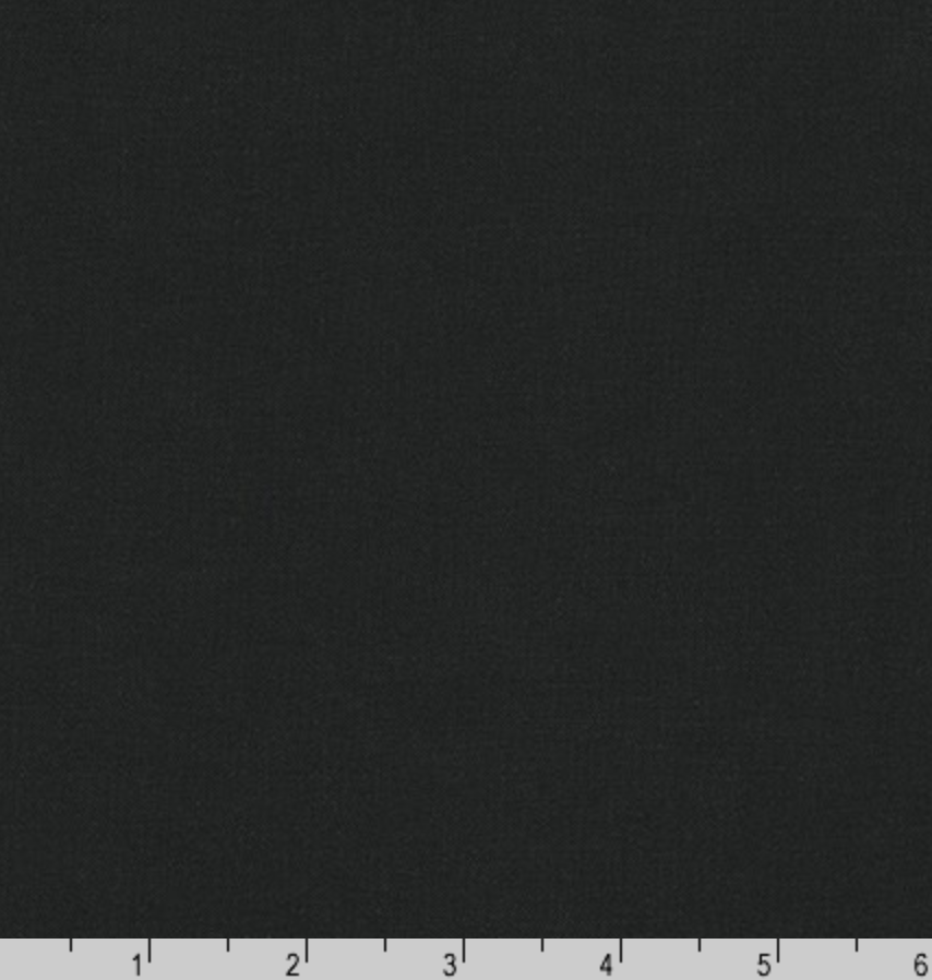 Kona Cotton Black Color # 1019 from Robert Kaufman | Designer Solids