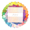 "Free Spirit - Tula's True Colors 10"" Charm Pack/Layer Cake by Tula Pink"