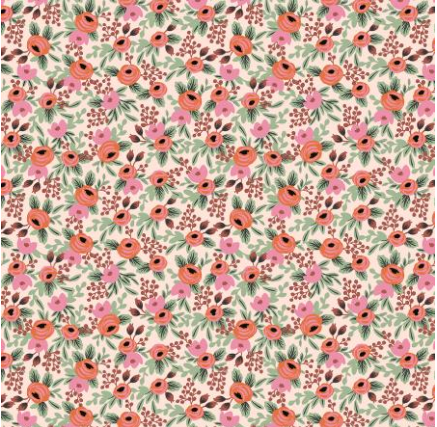 Primavera Rosa Blush Fabric by Cotton + Steel | RP305-BL3