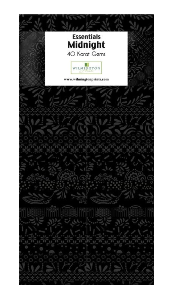 Midnight 40 Karat Gems by Wilmington Prints | Royal Motif Fabrics