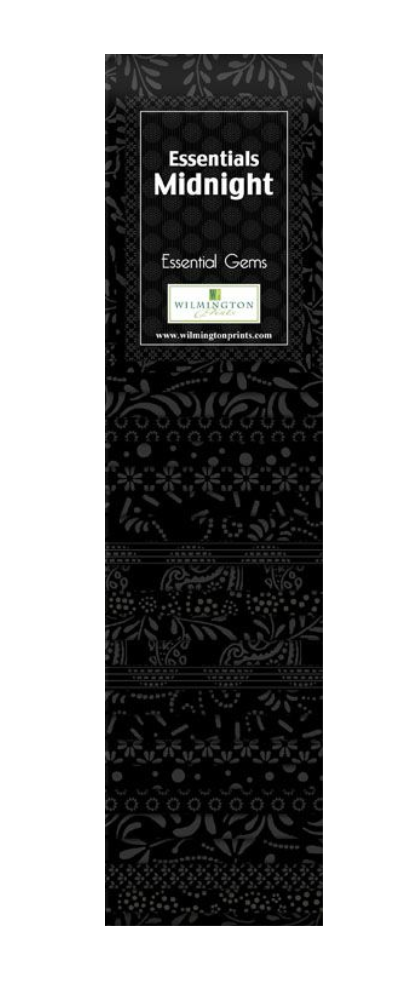 Midnight Essential Gems Strip Pack by Wilmington Prints | Royal Motif Fabrics