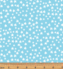 Glow For It - Star Glow Sky Blue Glow in the Dark Fabric by Kanvas Studio - Benartex