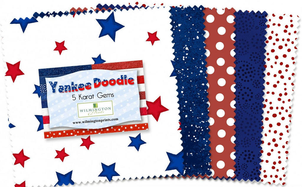 Yankee Doodle 5 Karat Gems by Wilmington Prints | Royal Motif Fabrics 507 9 507