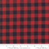 Homegrown Holidays - Buffalo Plaid Red Black by Moda Fabrics