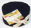 Bella Solids Black Jelly Roll by Moda Fabrics | Royal Motif Fabrics