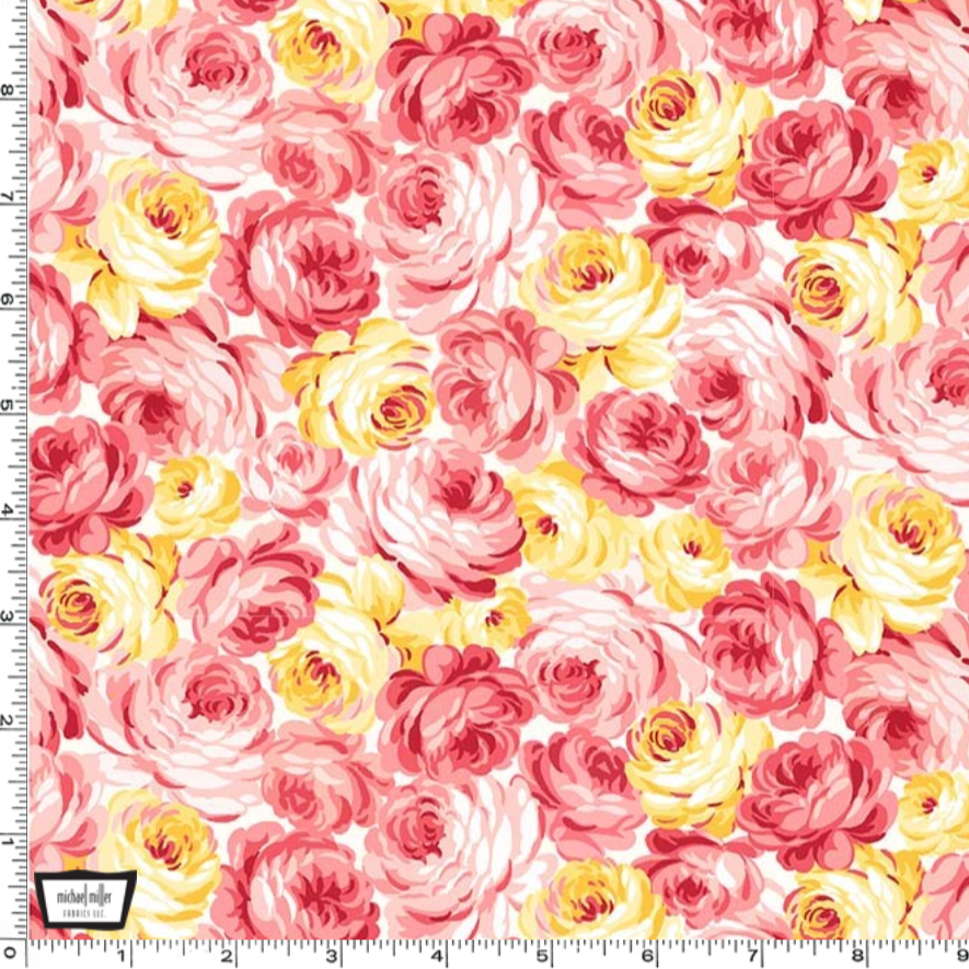 Country Cottage - Garden Roses by Michael Miller | Royal Motif Fabrics