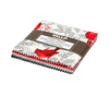 Winter's Grandeur 8 - Silver Colorstory Charm Squares by Robert Kaufman