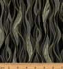 Dragonfly Dance - Dancing Waves Black/Gray by Kanvas Studio/Benartex 8503M-99
