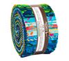 Artisan Batiks Totally Tropical Roll Up/Jelly Roll by Robert Kaufman | RU-909-40