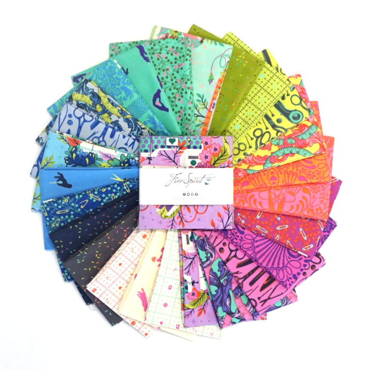 "HomeMade 5"" Charm Pack by Tula Pink for Free Spirit 
