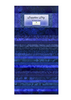 Sapphire Sky 40 Karat Gems/Jelly Roll by Wilmington Prints