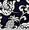Island Paradise Tropical Florals Navy by Robert Kaufman | SB-4144D1-1 NAVY
