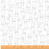 Kitty Kitty - Kitty Cats by Whistler Studios for Windham Fabrics 51687-1
