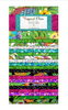 Tropical Flair 40 Karat Crystals/Jelly Roll by Hello Angel for Wilmington Prints