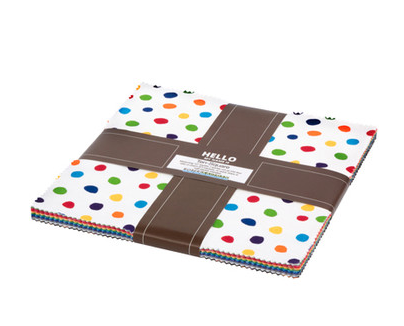 Dot and Stripe Delights Complete Collection Ten Squares/Layer Cake