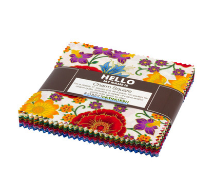 Florentine Garden Multi Colorstory Charm Pack by Robert Kaufman