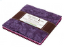 Artisan Batiks Prisma Dyes, Plum Perfect Charm Pack by Robert Kaufman