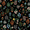 Strawberry Fields - Hawthorne Black Fabric by Cotton + Steel | RP401-BK1