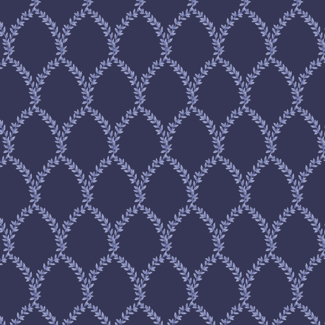 Strawberry Fields - Laurel Navy Fabric by Cotton + Steel | RP404-NA1