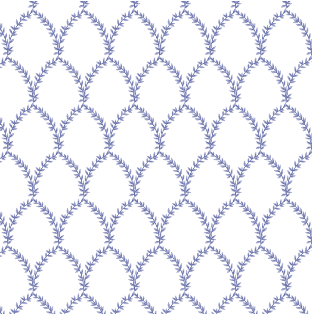 Strawberry Fields - Laurel Periwinkle Fabric by Cotton + Steel | RP404-PE4