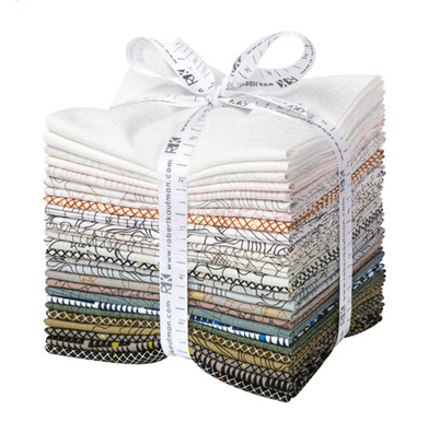 Robert Kaufman - Collection CF Neutral Colorstory FQ Bundle - 26 Fat Quarters