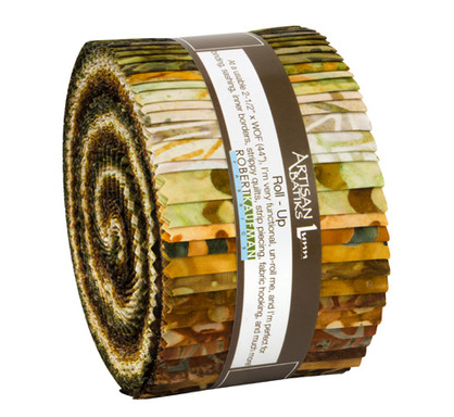 Artisan Batiks Fossils and Rocks Roll Up/Jelly Roll by Robert Kaufman | RU-930-40