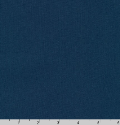 Kona Cotton Navy Color # 1243 from Robert Kaufman | Designer Solids