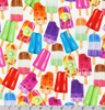 Sweet Tooth - Popsicles by Robert Kaufman | Novelty Prints | AMKD-19825-287 SWEET