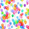 Cue the Confetti - Rainbow Balloons by Hoffman Fabrics S4790-181-Rainbow