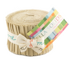 Moda Fabrics - Bella Solids Tan Junior Jelly Roll 9900JJR 13