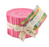 Moda Fabrics - Bella Solids 30s Pink Junior Jelly Roll 9900JJR 27