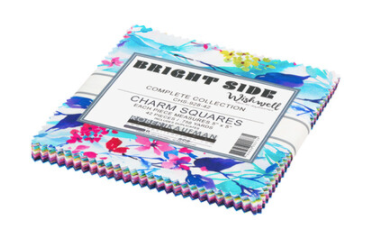 Wishwell Bright Side Complete Collection Charm Pack by Robert Kaufman | CHS-928-42