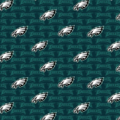 Licensed National Football League Cotton Fabrics | Philadelphia Eagles