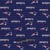 Licensed National Football League Cotton Fabrics | New England Patriots