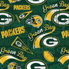 Licensed National Football League Cotton Fabrics | Green Bay Packers