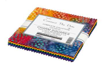 Artisan Batiks Connect the Dots Charm Pack by Robert Kaufman CHS-926-42