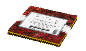 Artisan Batiks Farm Country Charm Pack by Robert Kaufman CHS-956-42