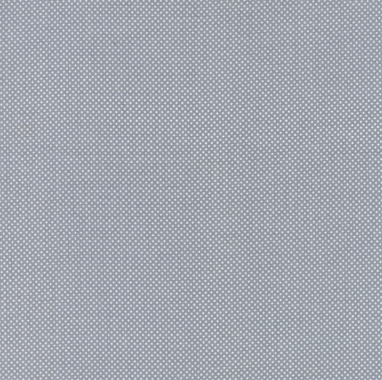 "45"" Dottie - Dottie Tiny Dots on Steel/Grey 45010 66 by Moda Fabrics"