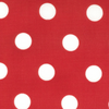 "45"" Dottie Christmas Red 45008 12 by Moda 