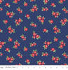 Penny Rose Fabrics - Harry & Alice - Tiny Rose Navy