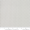 Finnegan Pebble Grey Gingham Fabric by Brenda Riddle for Moda 18685 16