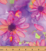 Color Calypso Large Calypso Floral Lilac/Multi 8832-60 by Benartex