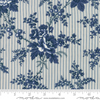 Moda Fabrics Northport Prints Floral Cottage Curtains Blue Fabric